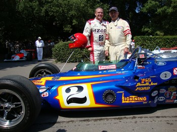 Al Unser Jr. Johnny Lightning Helmet